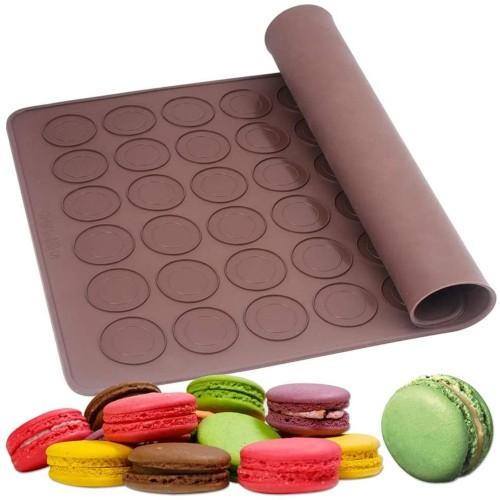 Silikon Matt für Macarons 48 - 39,2 x 28,6cm