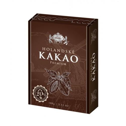 Holandské kakao Premium - 100g