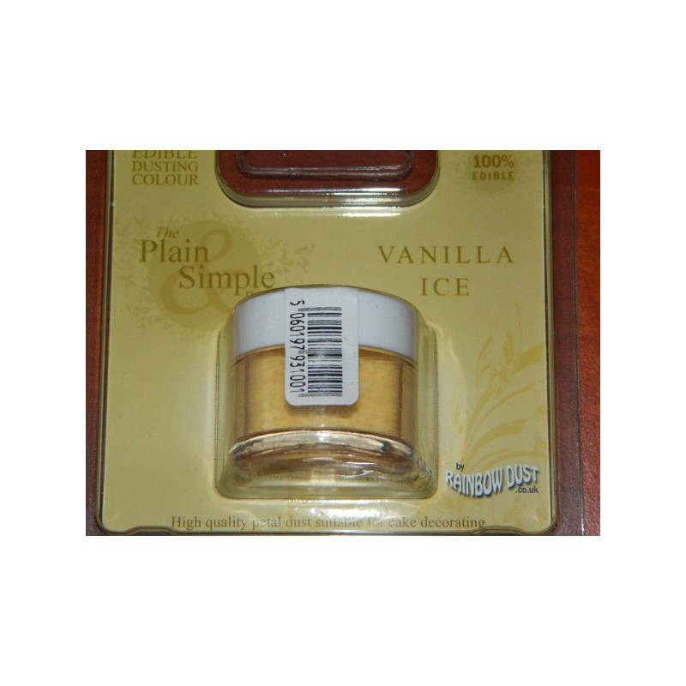 Prachová barva vanilková zmrzlina Rainbow - Vanilla ice