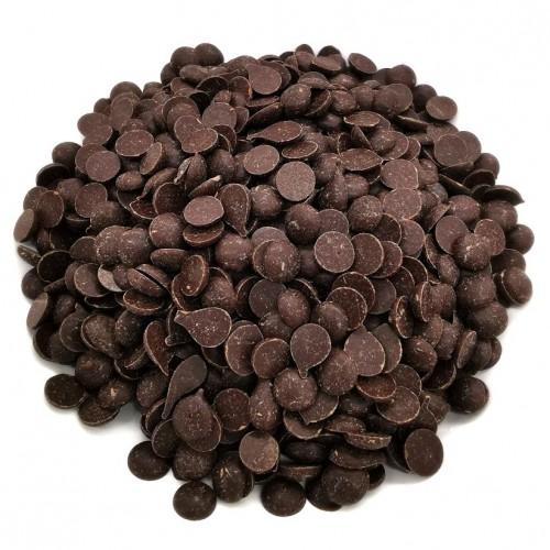 Hořká čokoláda 51% pecky - dark discs - 500g