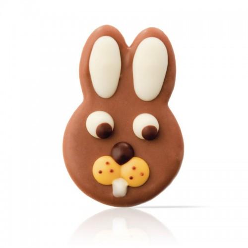 Čokoládová dekorace - Zajíc - 15ks