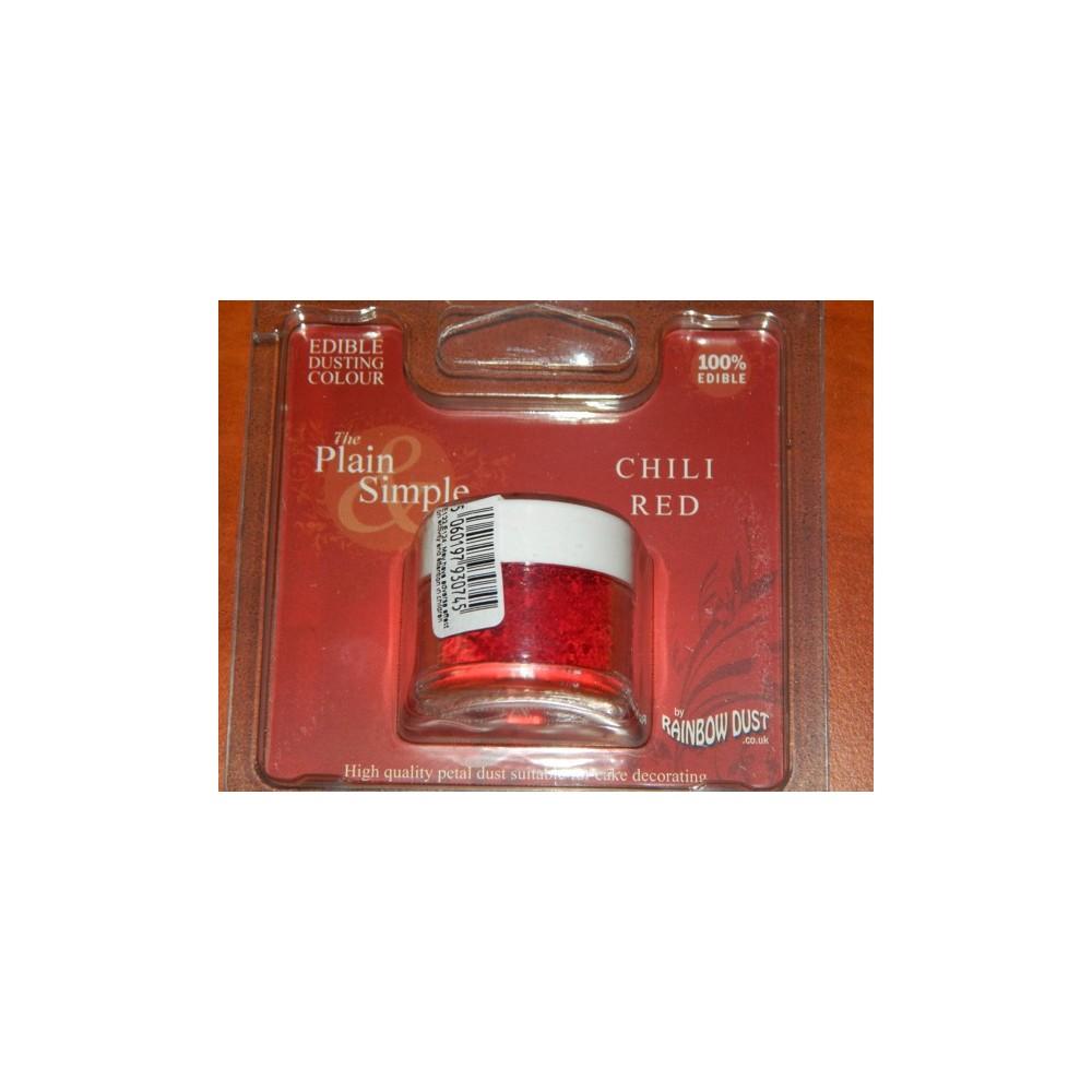Puderfarbe Rainbow - Chili red