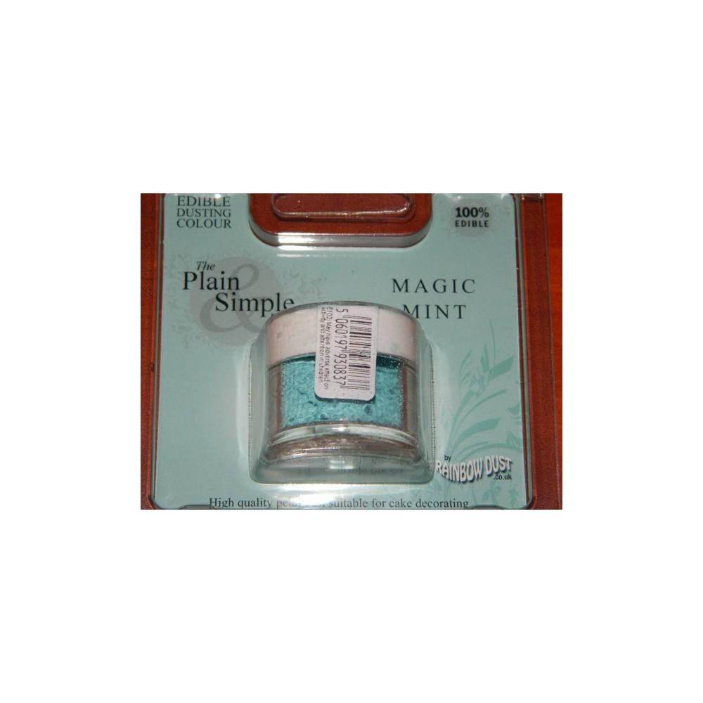 Prachová barva kouzelná máta Rainbow - Magic Mint