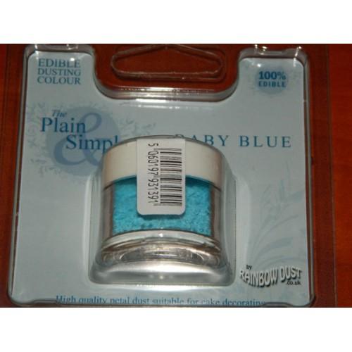 RD Prachová farba detská modrá Rainbow dust - Baby blue 5g