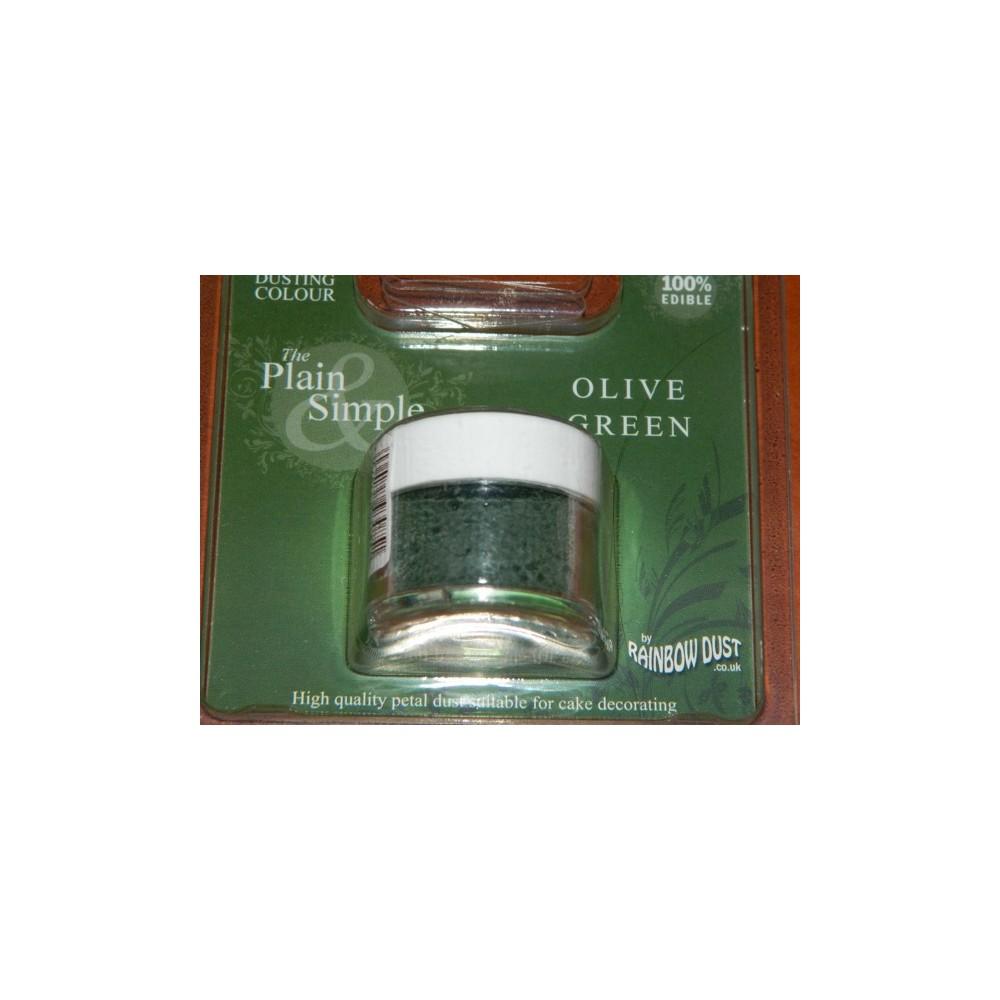 Puderfarbe Rainbow - Olive green