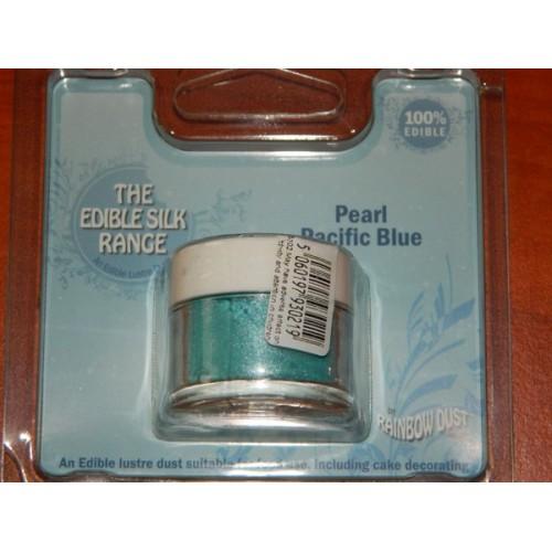 RD Prachová perleťová farba oceánska modrá Rainbow dust - Pearl Pacific Blue 2g