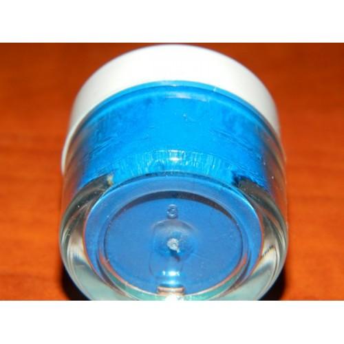 Prachová perleťová měsíční modř Rainbow dust - Starlight Blue Moon