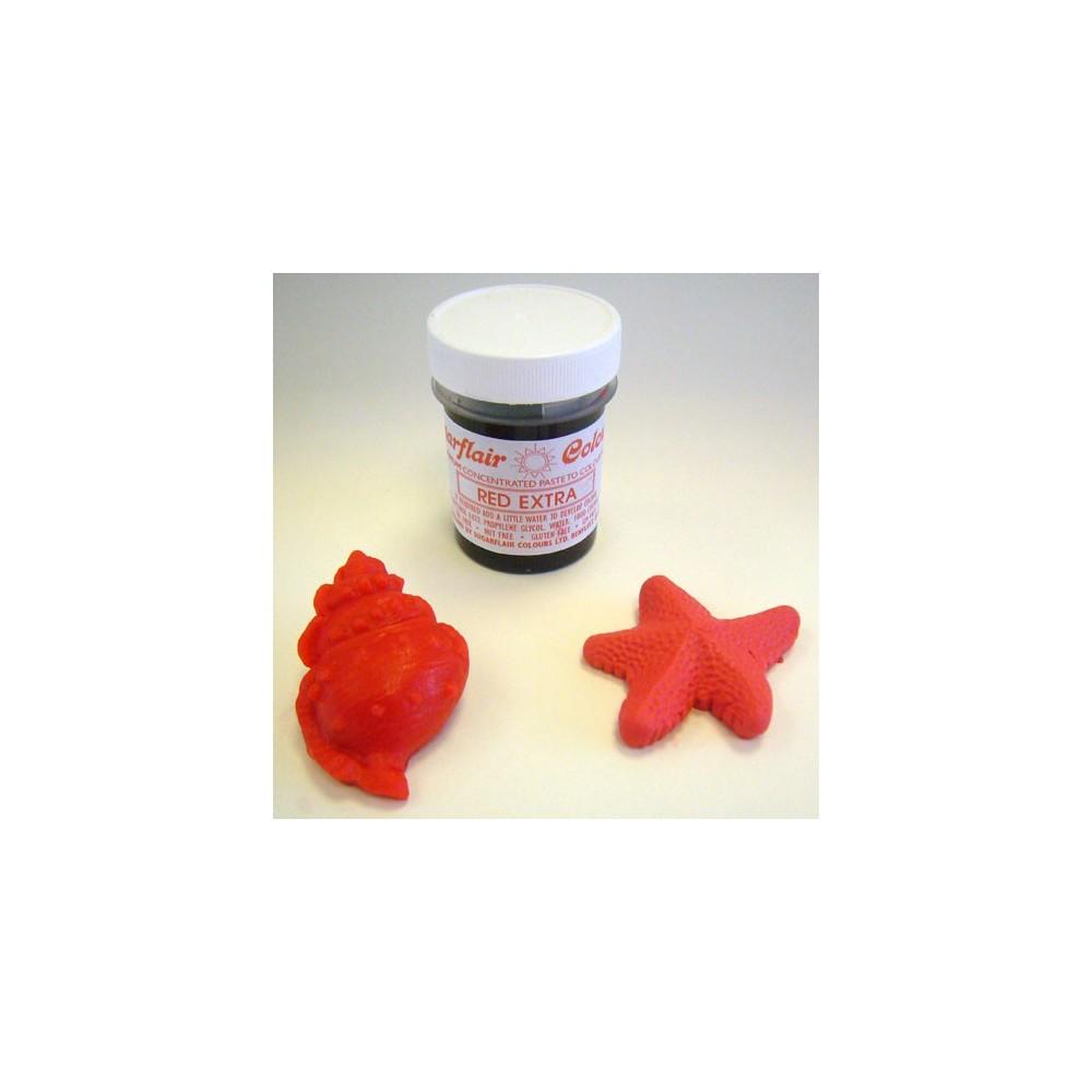 Sugarlair gelová barva - extra červená