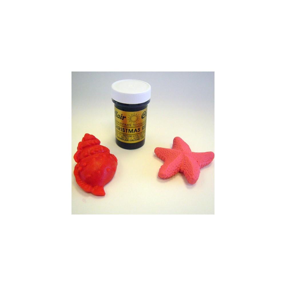 Sugarlair gelová barva - vánoční červená - Christmas Red