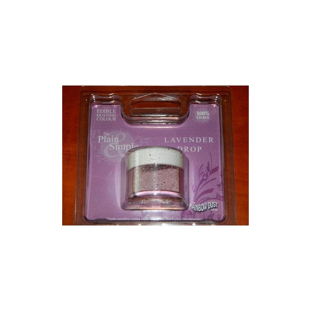 Prachová barva levandulová Rainbow - Lavender Drop