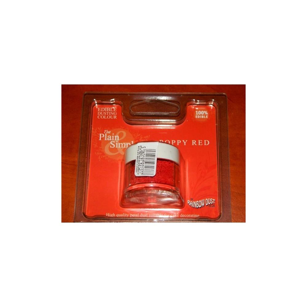 Puderfarbe Rainbow dust - Poppy Red