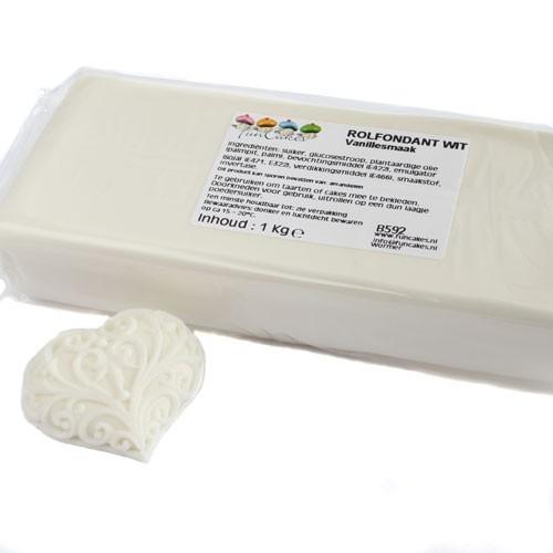FunCakes potahový fondán - bílý - 5kg