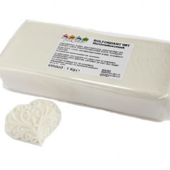 FunCakes rolled fondant Marshmallow - weiss 1kg