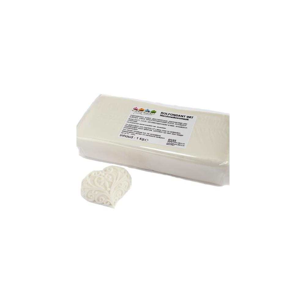 FunCakes potahový fondán Marshmallow - bílý 1kg