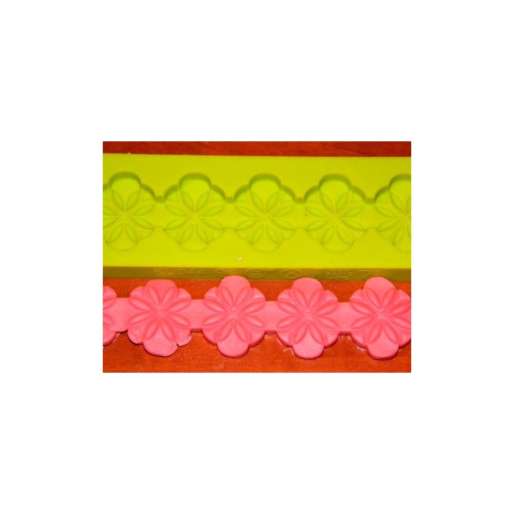 Border scharfe Blume