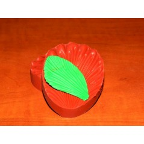 Veiner silikonform -drapierte Blatt