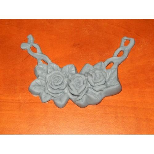 Silikonová formička - Girlanda z růží