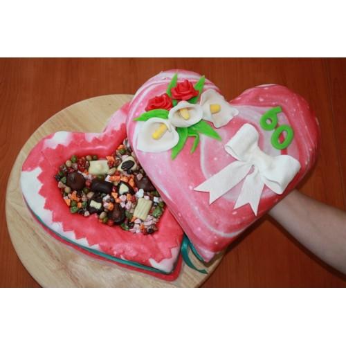 Dortová forma - Srdce velké