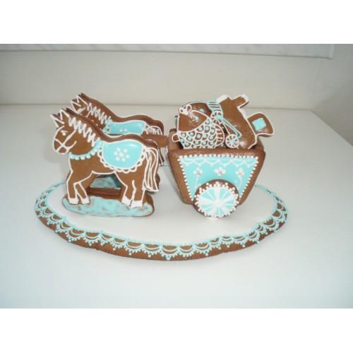 Ausstechformen/Ausstecher set - Pferdekutsche