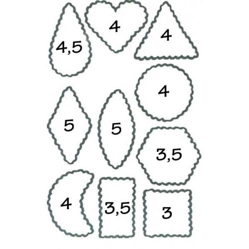Ausstechformen/Ausstecher set - Cracker