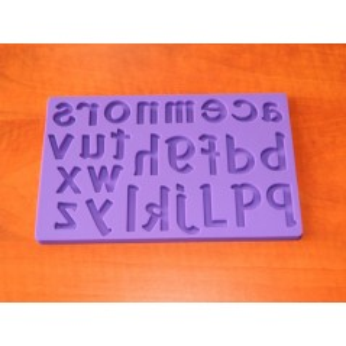 Silikónová forma - Malé písmená