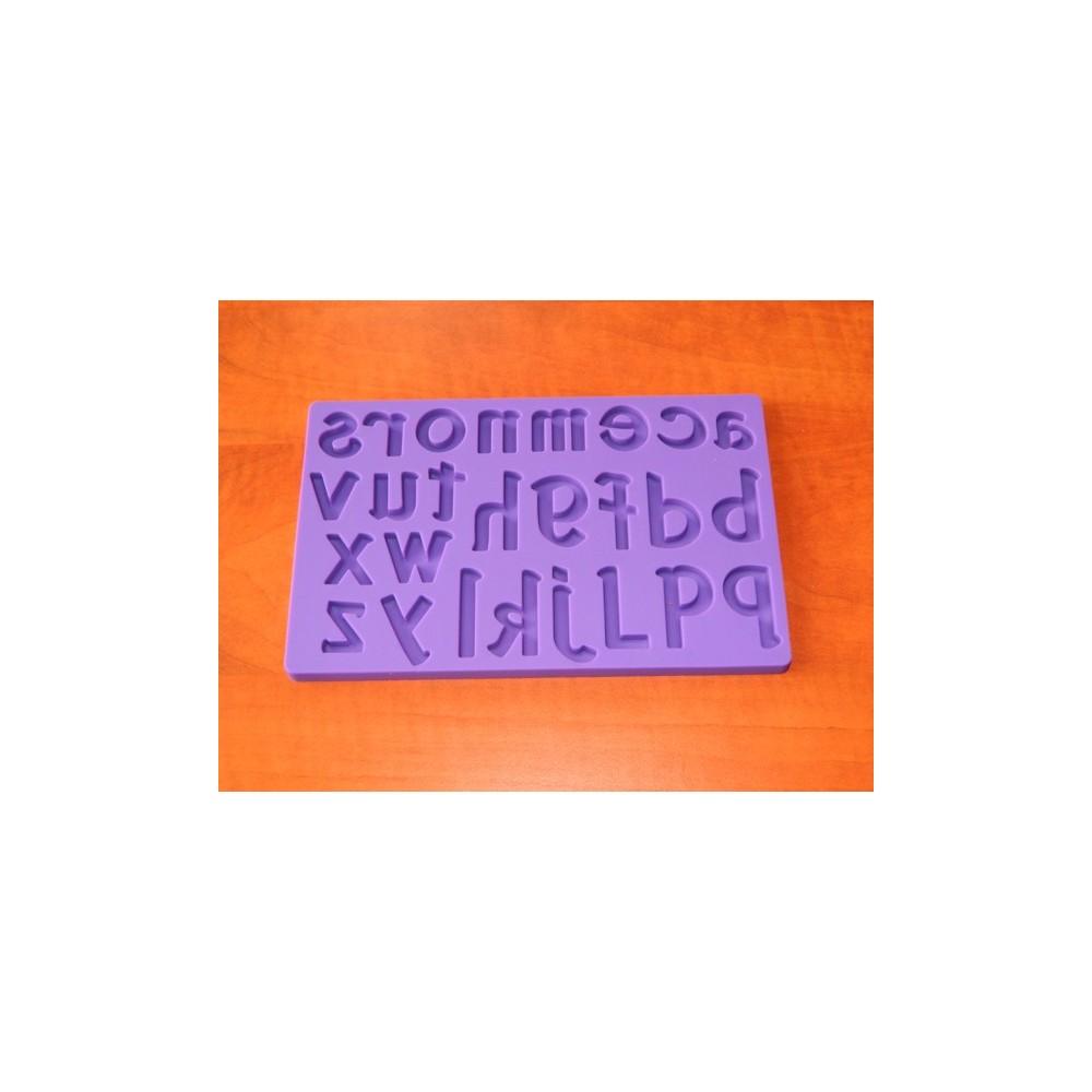 Silikonová forma - Malá písmena