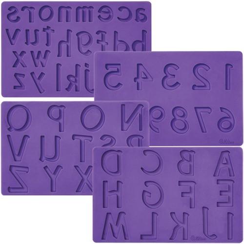Kleinbuchstaben Fondant & Gum Paste