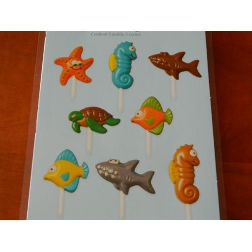 Wilton Lollipop Form Sea Creatures