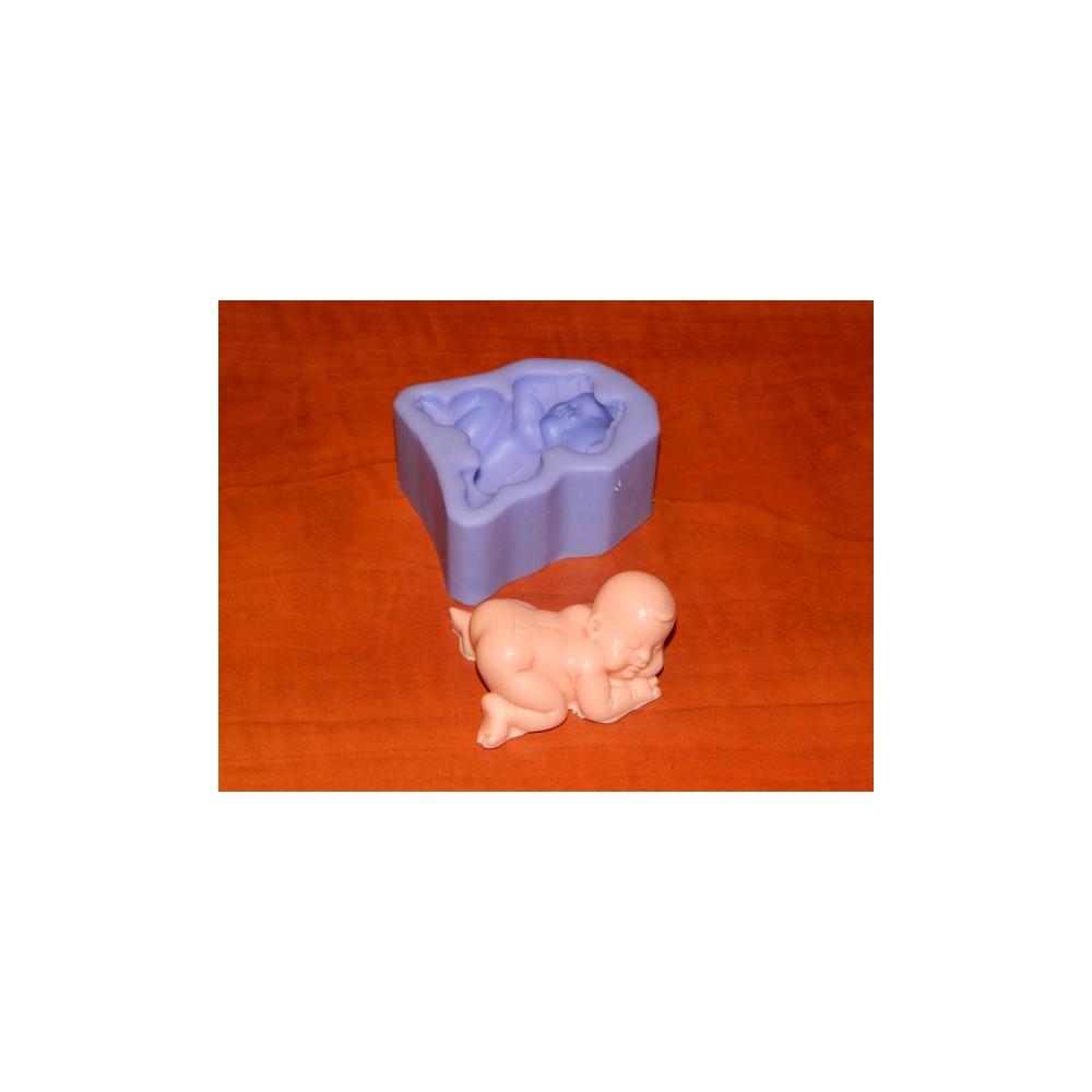 Silikonová formička - miminko chlapeček