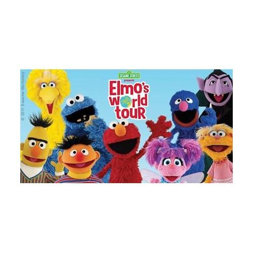 Elmo's World 4er Set - Ausstecher mit Auswerfer und Prägung