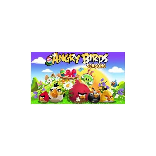 "Silikonform ""Angry Birds"" - Blau"