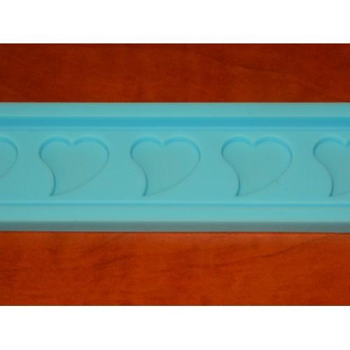 Silikonový pásek - srdíčka