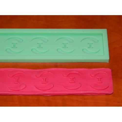 Silikonový pásek - Ying Yang