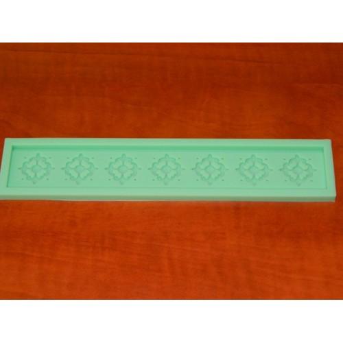 Silikonový pásek - ozdobný kříž