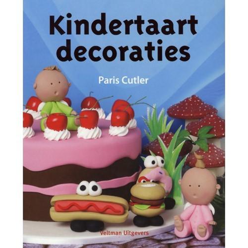 Kindertaart decoraties - Paris Cutler - detské dekorácie na tortu