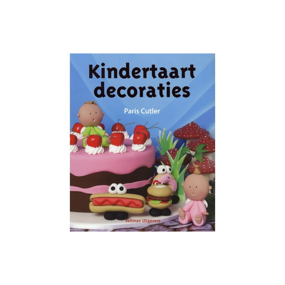 Kindertaart decoraties - Paris Cutler - dětské dekorace na dort