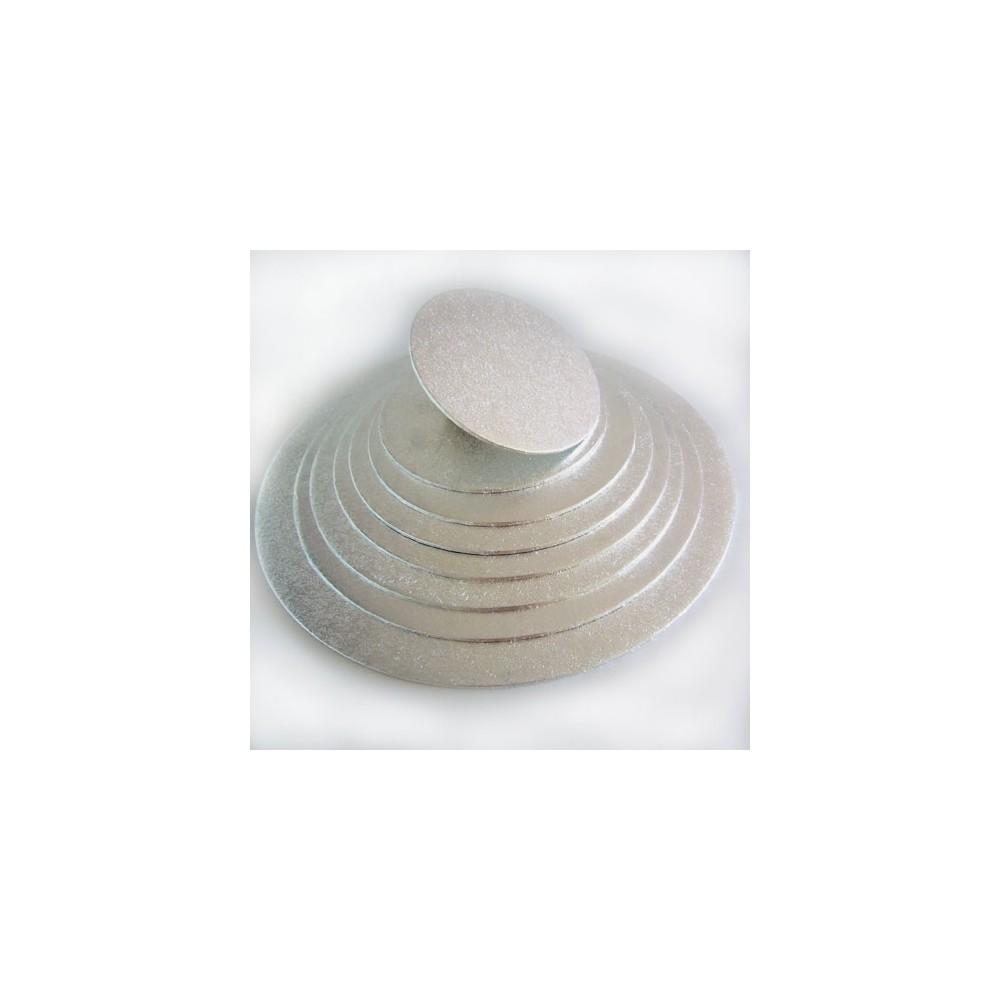 FunCakes podložka pod dort stříbrná 20cm/4mm