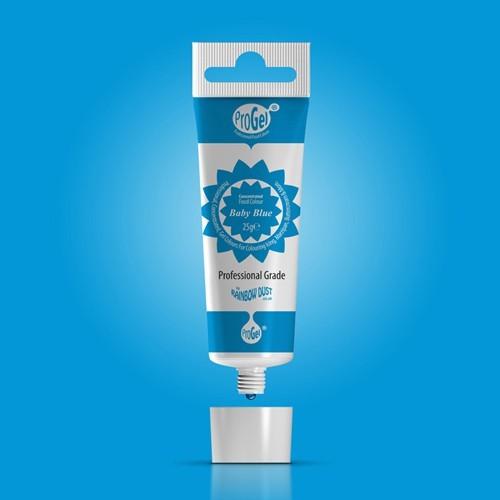 RD ProGel® - gelová barva - dětská modrá  25g- Baby Blue