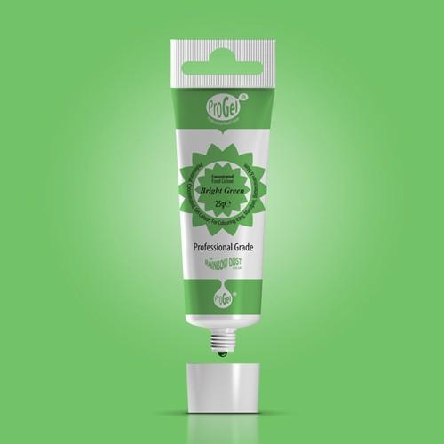 RD ProGel® - gelová barva - jasná zelená - Bright Green