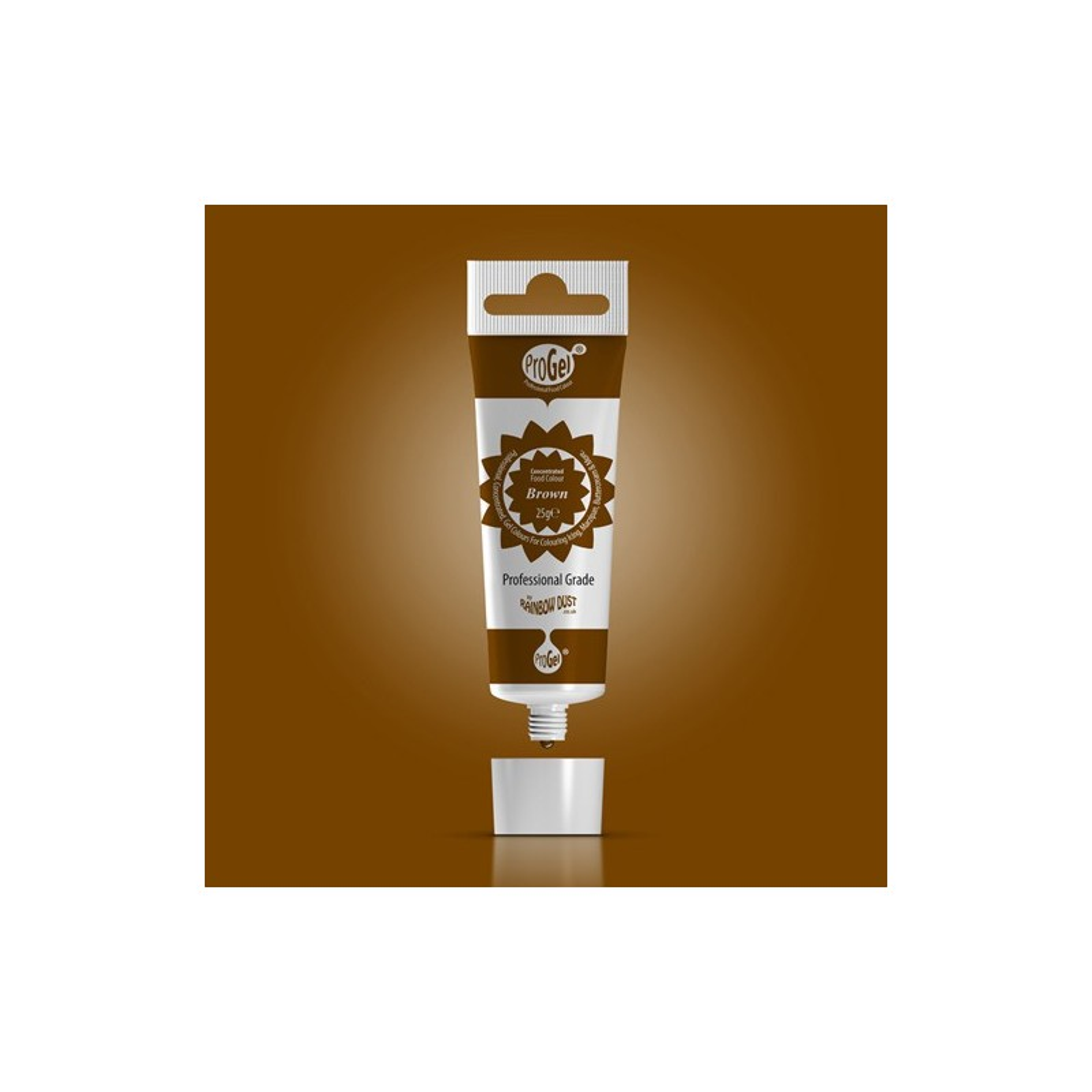 RD ProGel® - gelová barva - hnědá - Brown
