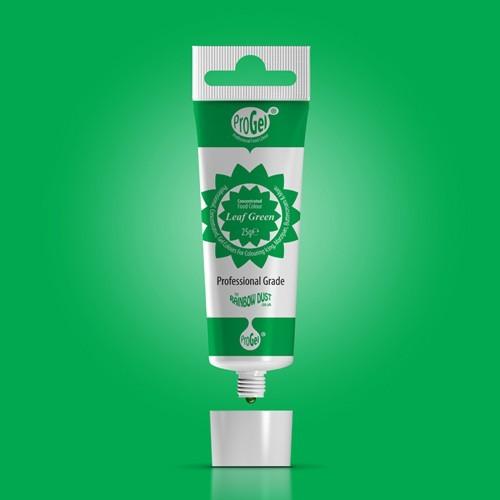 RD ProGel® - gelová barva - lístková zelená - Leaf Green