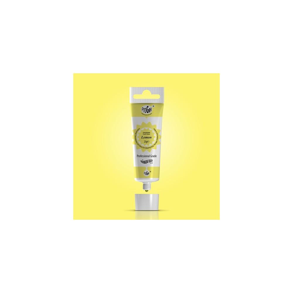 RD ProGel® - gelová barva - citrónová žlutá - Lemon