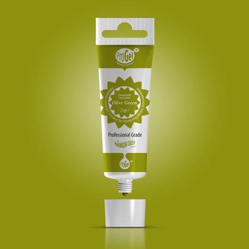 RD ProGel® - gelová farba - olivovo zelená - Olive Green
