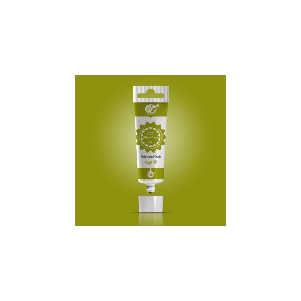 RD ProGel® - gelová barva - olivově zelená - Olive Green