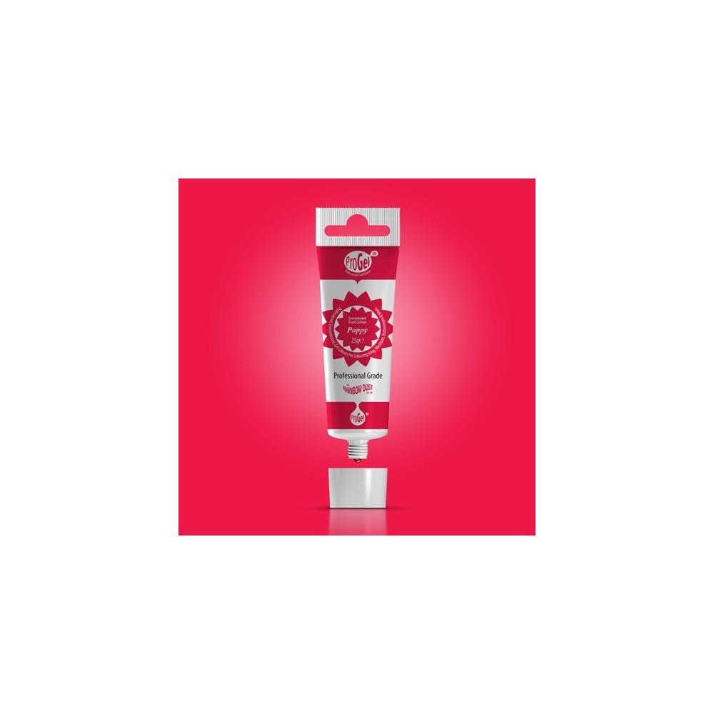 RD ProGel® - gelfarbe - Mohn rot - Poppy