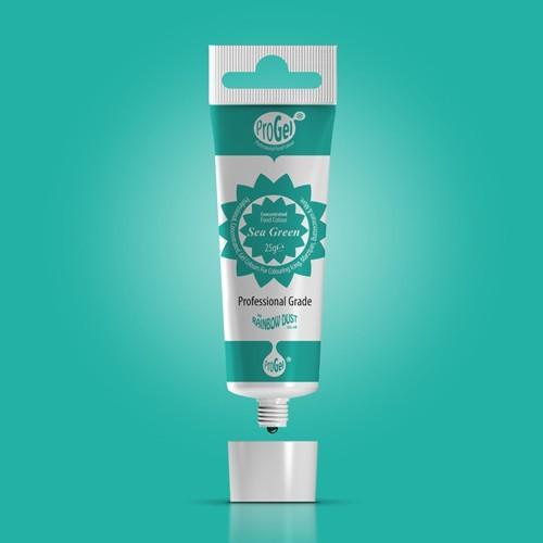RD ProGel® - gelová barva - mořská zelená - Sea Green