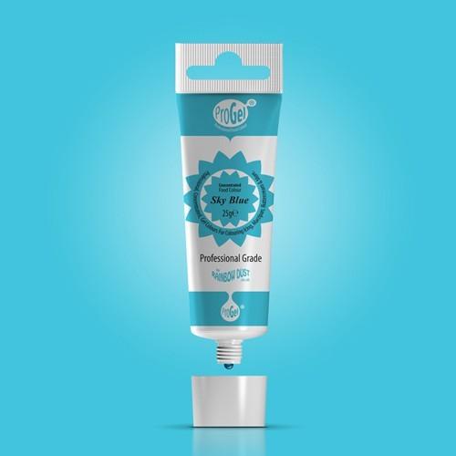 RD ProGel® - gelová farba - nebeská modrá - Sky Blue