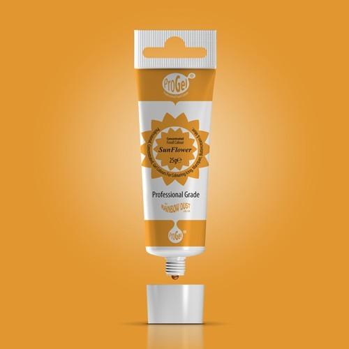RD ProGel® - gelová barva - slunečnicová - Sun Flower