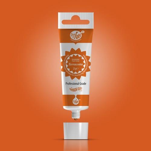 RD ProGel® - gelová farba - terakota - Terracotta