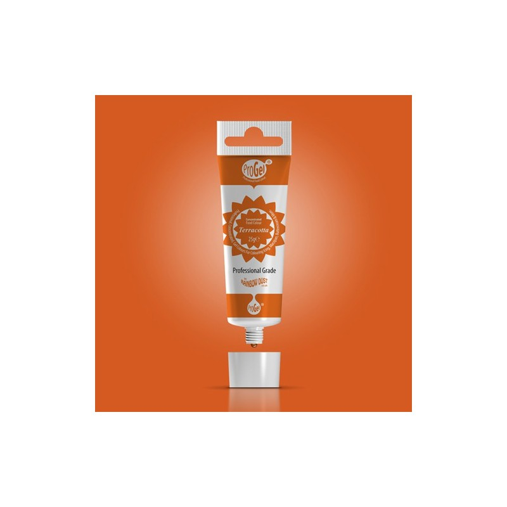 RD ProGel® - gelová barva - terakota - Terracotta